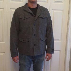 Men's Old Navy grey winter pea Coat